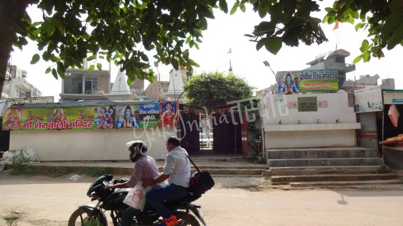 ヒンドゥー教のお寺の入り口